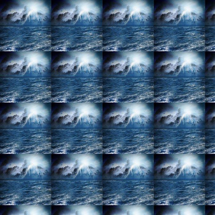 Vinylová Tapeta Bouře v noci - Život