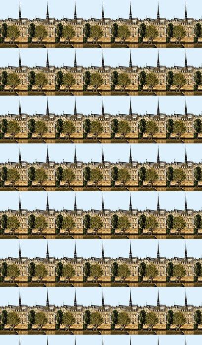 Vinylová Tapeta Ostrov Saint-Louis za jasného letního dne v Paříži - Památky