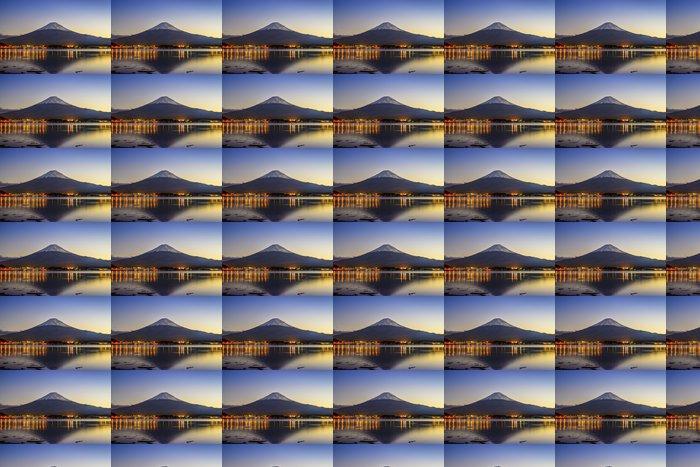 Vinylová Tapeta Mt. Fuji za soumraku u jezera Kawaguchi - Témata