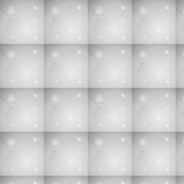 Vinylová Tapeta Anýz / Černo-bílé pozadí s barevnými akcenty - Roční období