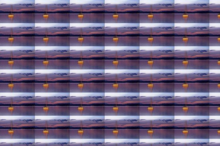 Vinylová Tapeta Plachetnice v noci - Voda