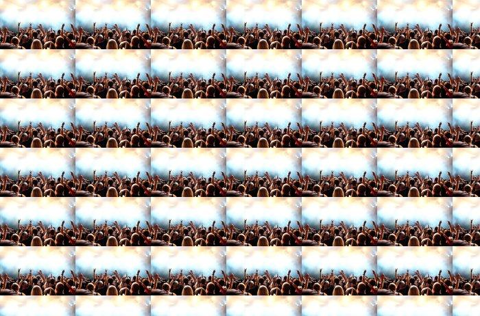 Vinylová Tapeta Koncert dav před jasných fázi světla - Zábava