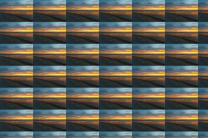 Vinylová Tapeta Západ slunce Rybaření - Amerika