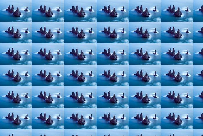 Vinylová Tapeta Reynisdrangar útesy - Přírodní krásy