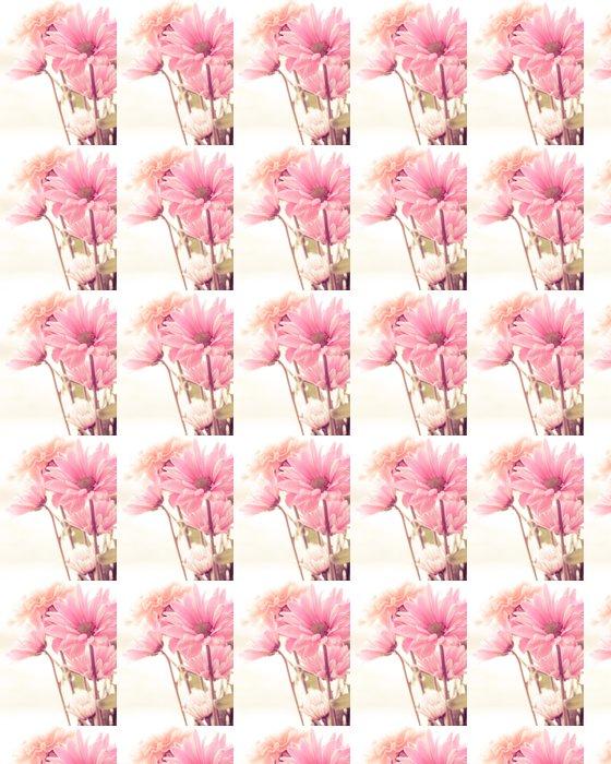 Vinylová Tapeta Soft tone floral bouquet - Květiny