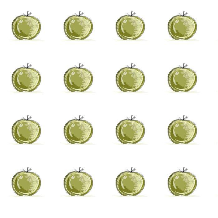 Vinylová Tapeta Náčrt jablka pro svůj design - Mír