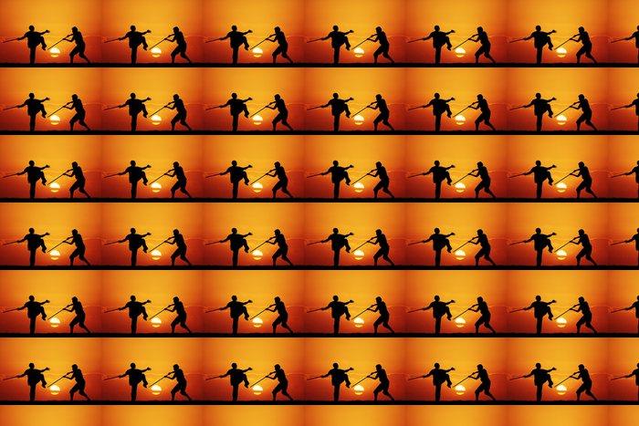 Vinylová Tapeta Kung fu při západu slunce - Témata
