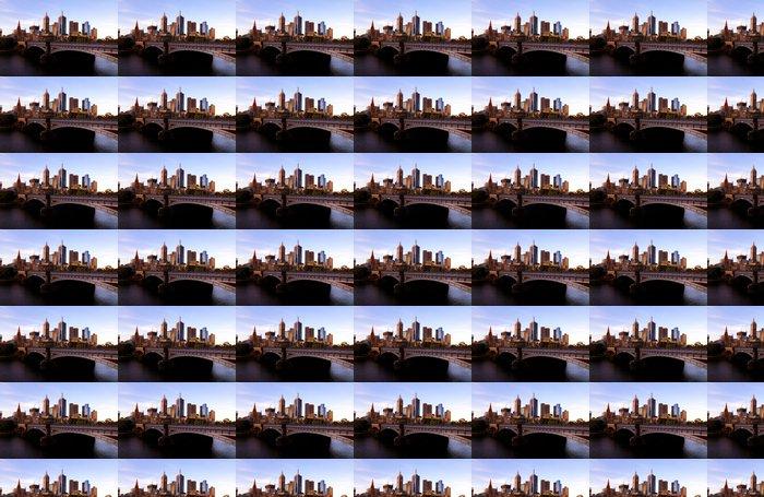 Vinylová Tapeta Melbourne Skyline na západ slunce - Témata