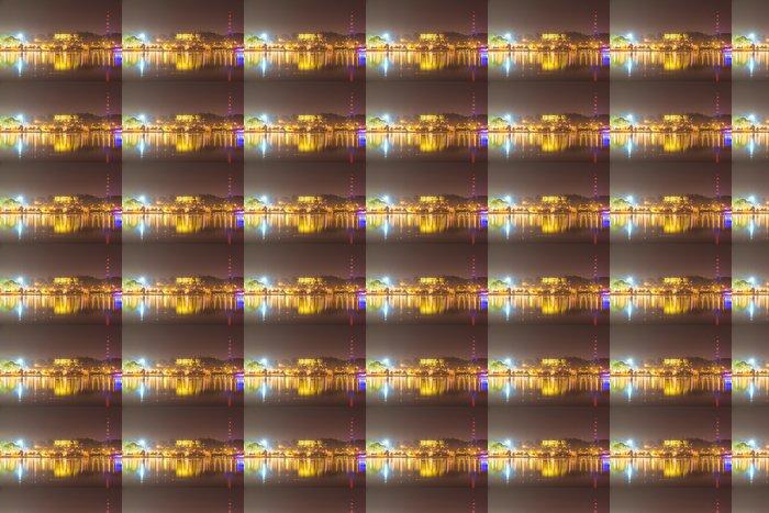 Vinylová Tapeta Město noční světlo, Dalat město Vietnam - Asie