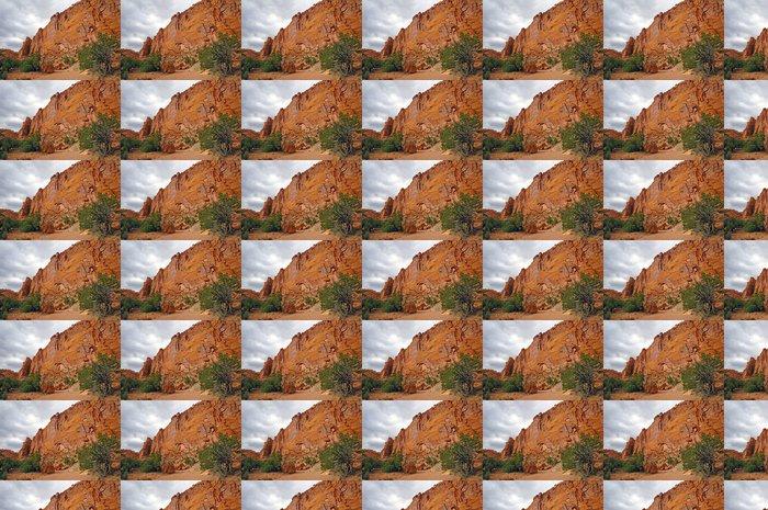 Vinylová Tapeta Red Cliffs v Desert Canyon - Pouště