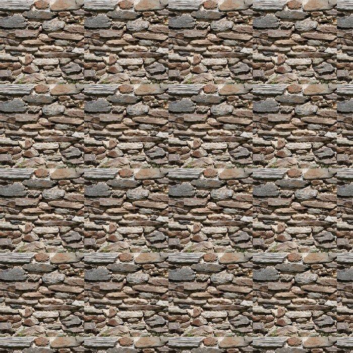 Vinylová Tapeta Schieferwand - Hintergrundtextur aus Grauen Steinen - Ekologie