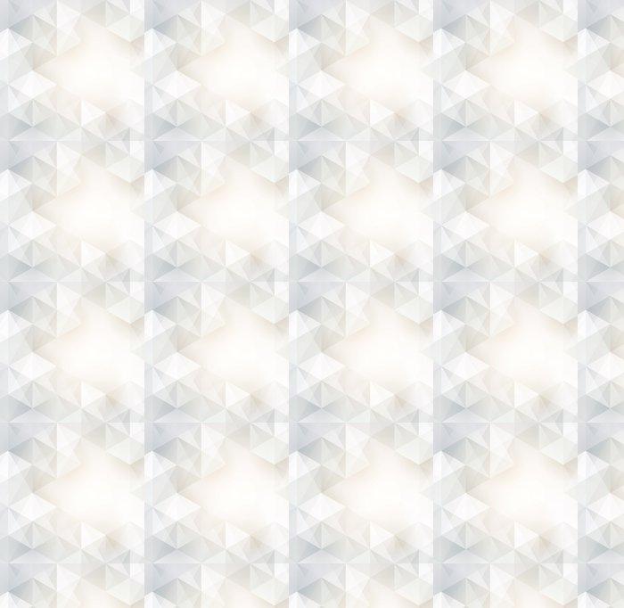 Vinylová Tapeta Bílé geometrie vektor pozadí. - Pozadí