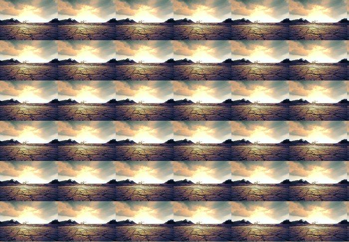 Vinylová Tapeta Sucho půdy - Afrika