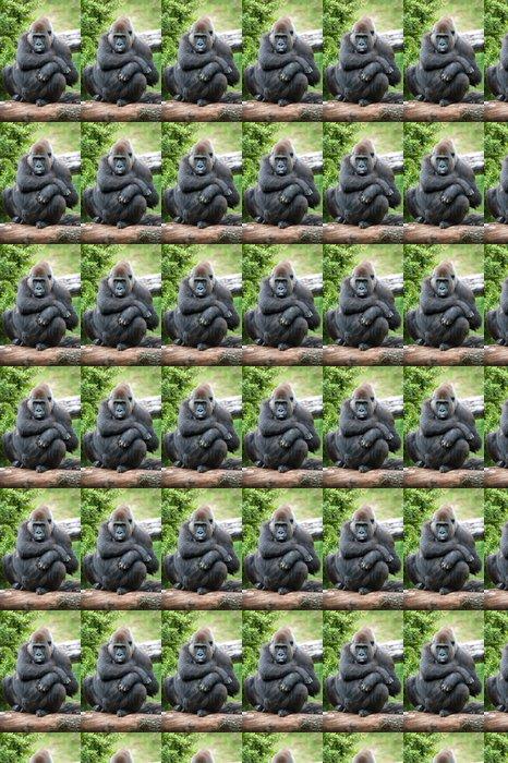 b112d139bc6b8 Tapete Weiblichen Gorilla Silberrücken • Pixers® - Wir leben