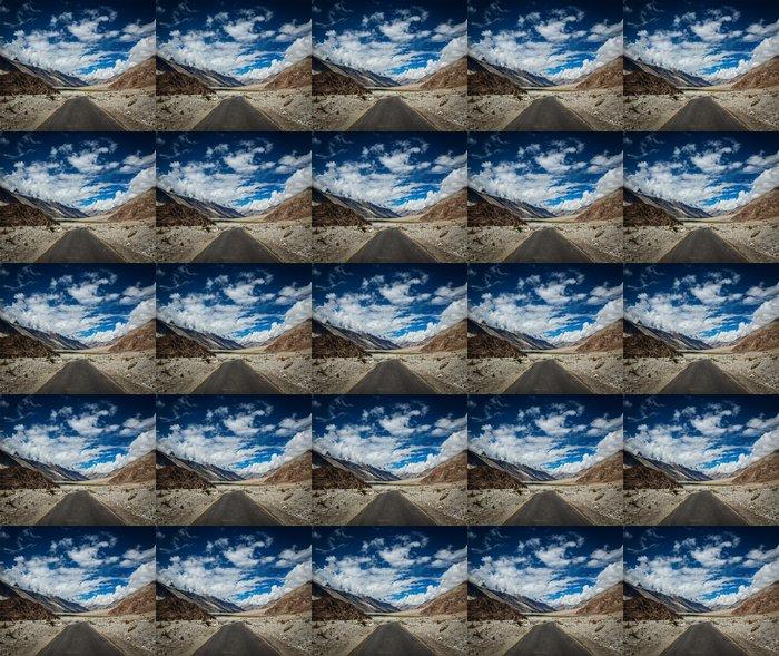 Vinylová Tapeta Road v himálajské krajiny v údolí Nubra v Himalájích - Témata