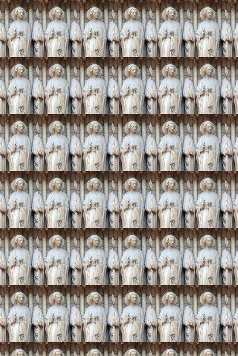 Vinylová Tapeta Saint John, katedrála Notre Dame, Paříž - Evropská města