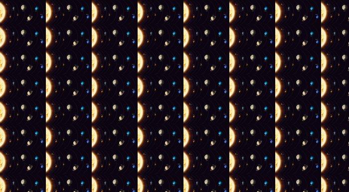 Vinylová Tapeta Solární systém planety - Věda