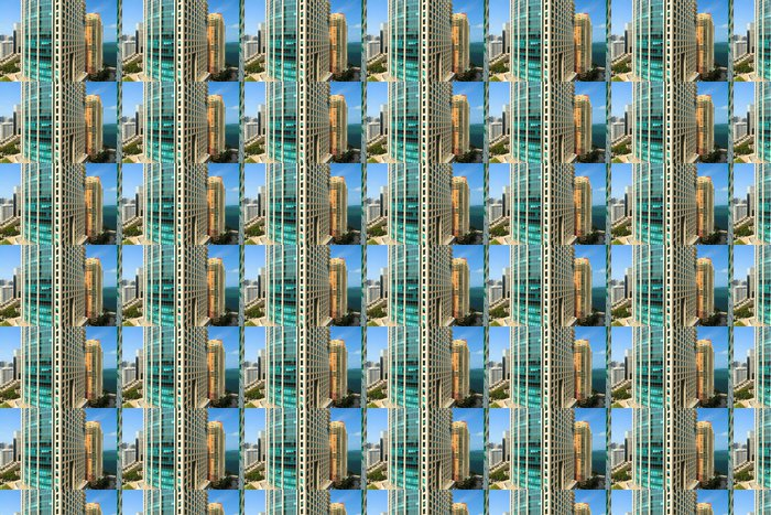 Vinylová Tapeta Miami Brickell Avenue - Amerika