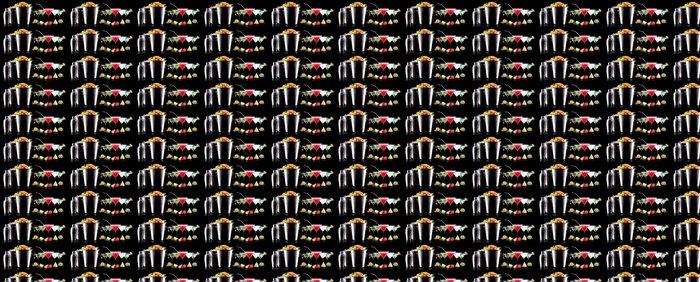Vinylová Tapeta Alkohol koktejl set s letní ovoce - Alkohol