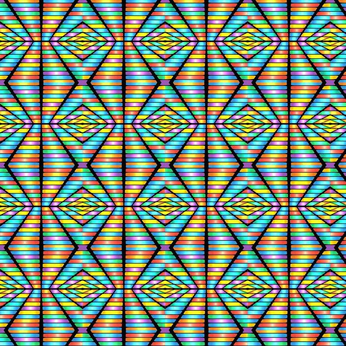 Vinylová Tapeta Abstraktní geometrické pattern.colorful pozadí barevného rectan - Témata