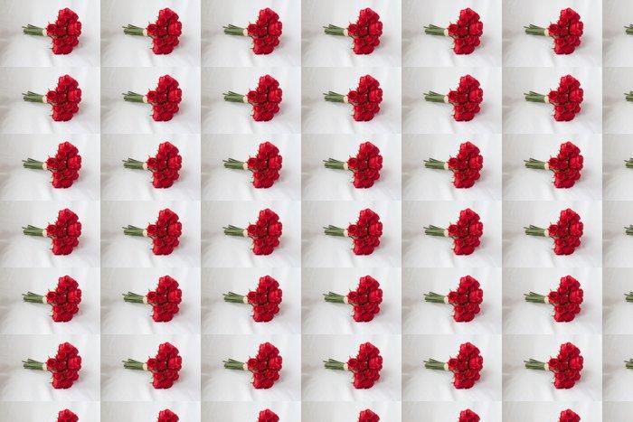 Vinylová Tapeta Kytice rudých růží - Mezinárodní svátky