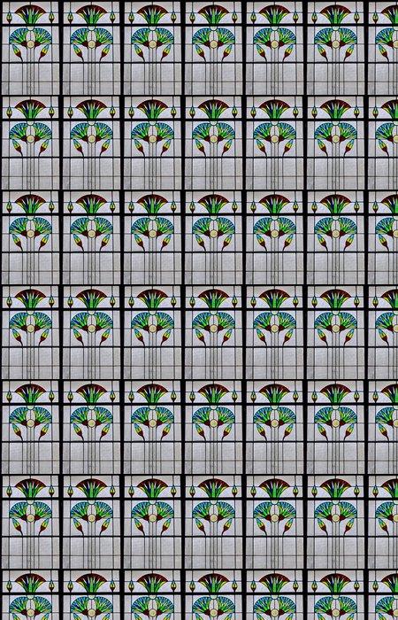 Vinylová Tapeta Fenetre art deco - Těžký průmysl