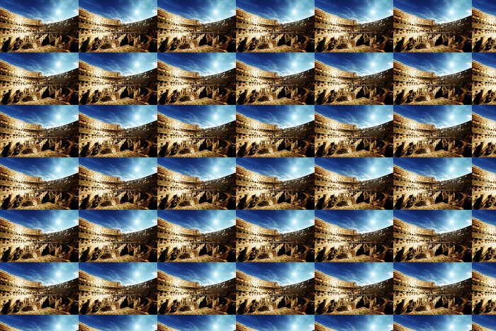 Vinylová Tapeta Uvnitř Colosseum v Římě, Itálie - Témata