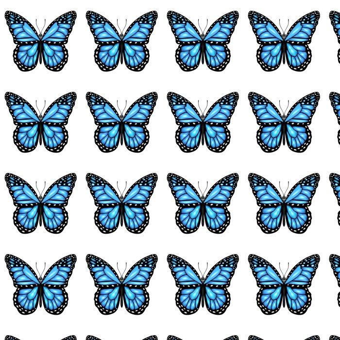 Vinylová Tapeta Blue Butterfly - Roční období