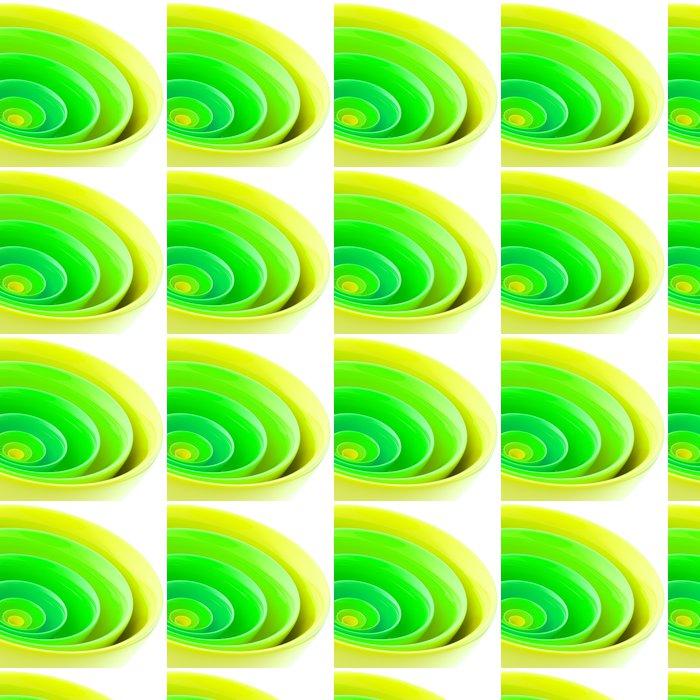 Vinylová Tapeta Pozadí z abstraktních plastových kruhů - Pozadí