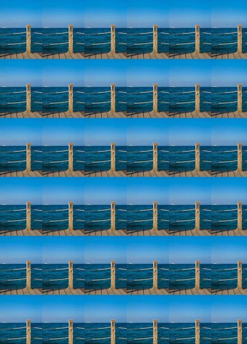 Jetty into Heaven Vinyl Wallpaper - Water