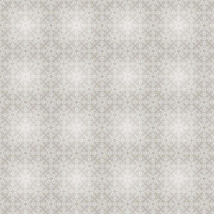 Vinil Duvar Kağıdı Vektör Dikişsiz Vintage Wallpaper Pattern - Arka plan