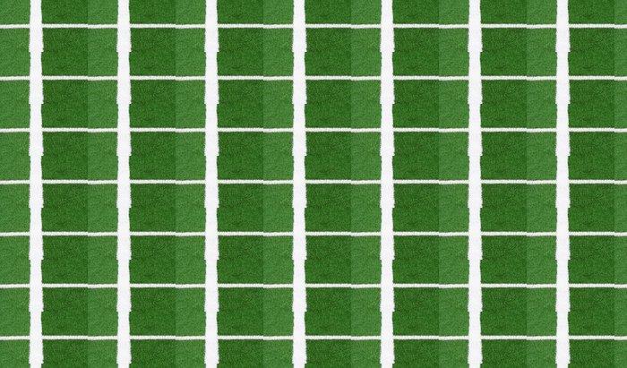 Tapete Fussballfeld Linien Kunstrasen Soccer Pitch Detail