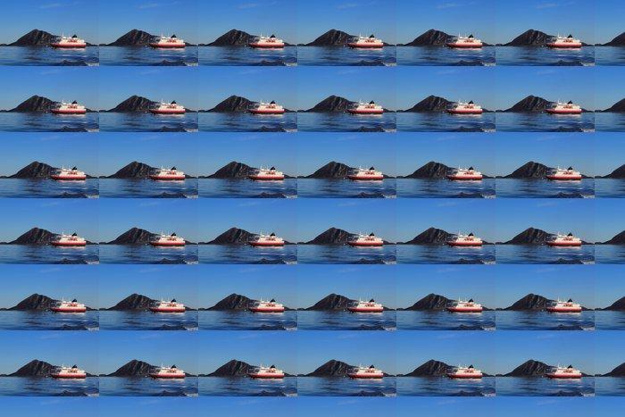Vinylová Tapeta Pobřežní loď na pobřeží severního Norska - Evropa