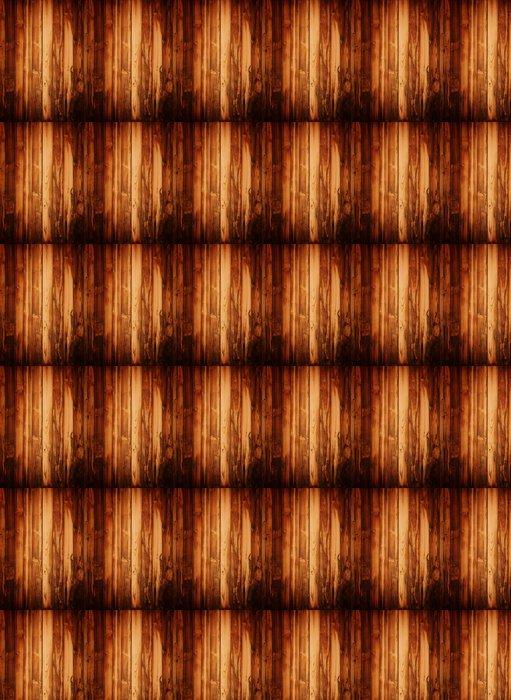 Vinylová Tapeta Grunge hnědé dřevěné desky. - Témata