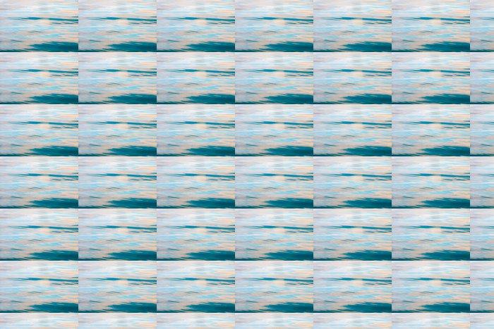 Vinylová Tapeta Krásná krajina modré mořské hladině. Klidné scény. - Voda
