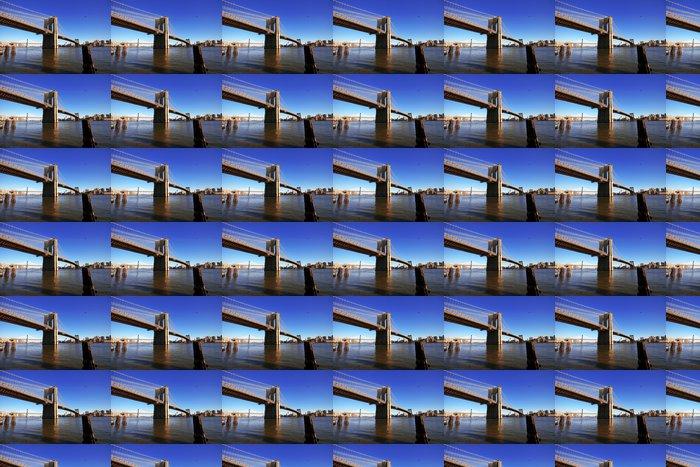 Vinylová Tapeta Classical NY - Brooklyn most, pohled z Manhattanu -