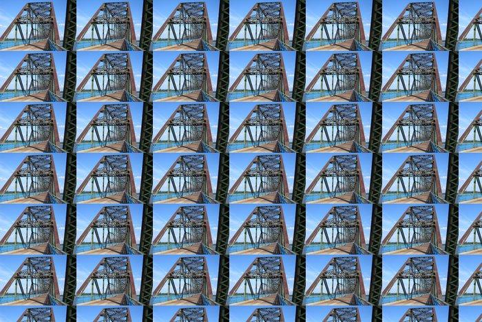Vinylová Tapeta Route 66 Chain of Rocks Bridge - Amerika