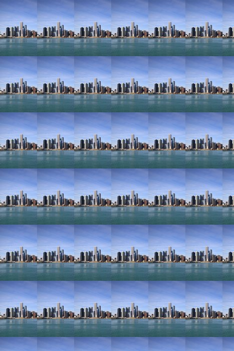 Vinylová Tapeta Chicago skyline - Amerika