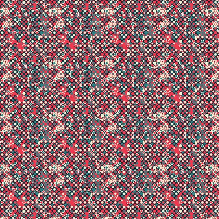 tapete rot circless nahtlose muster mit blob effekt - Tapete Rot Muster