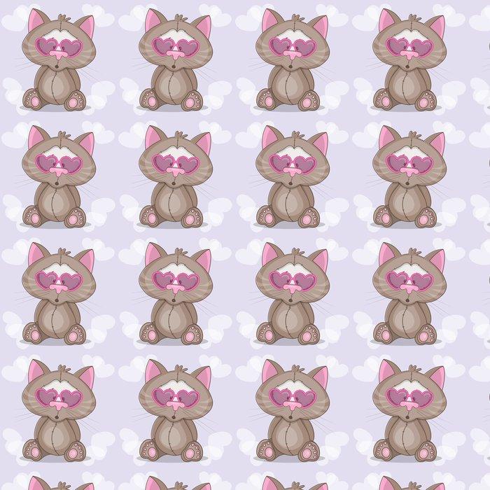 Tapeta Kot W Okularach Pixers żyjemy By Zmieniać