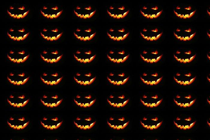 Vinylová Tapeta Halloween dýně - Mezinárodní svátky