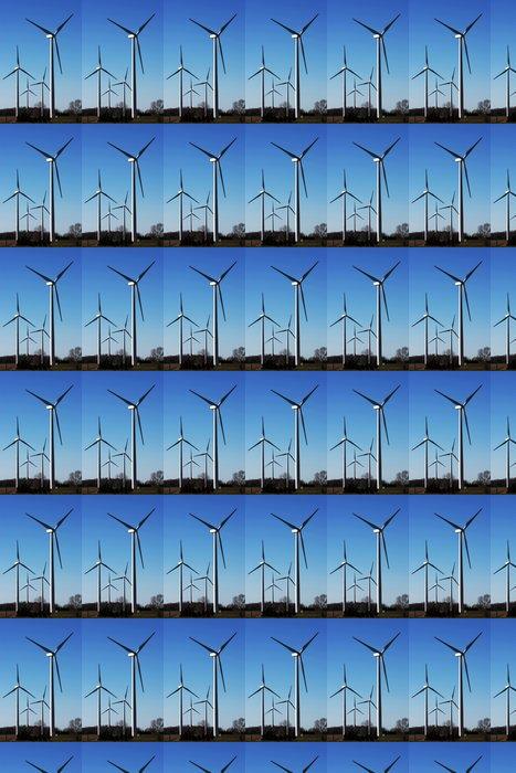 Vinylová Tapeta Alternativních zdrojů energie: vítr - Ekologie