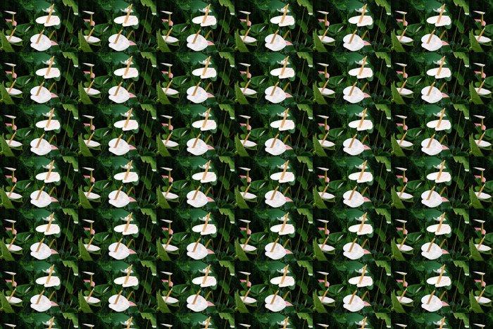 Vinylová Tapeta Blühende Aturien - Květiny