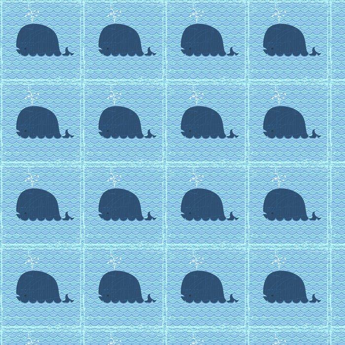 Vinylová Tapeta Velryba - Vodní a mořský život