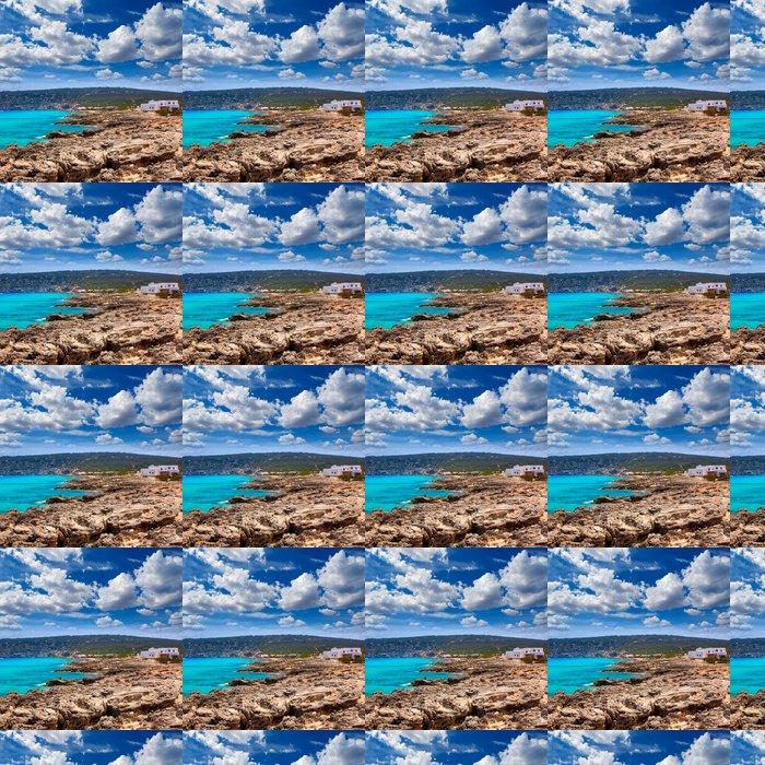 Vinylová Tapeta Es Calo stupnice Augustine Beach v Formentera - Evropa
