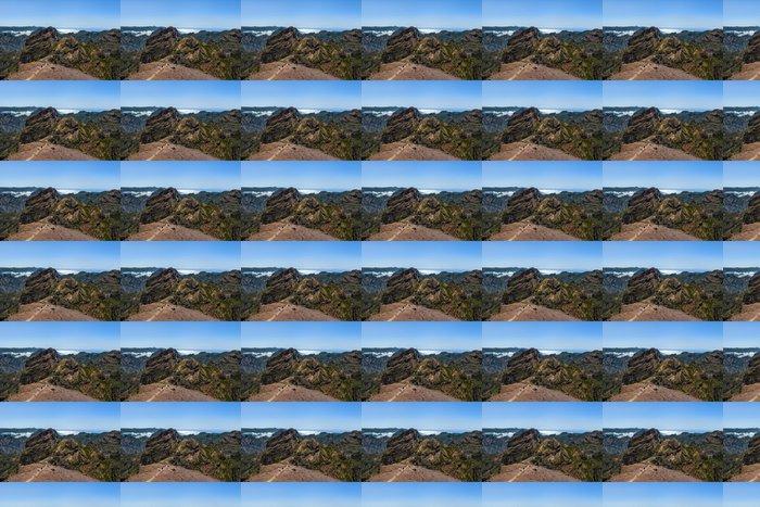 Vinylová Tapeta Pohled z Peak mezkař, dřevo - Hory