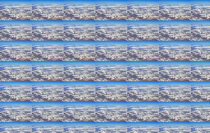 areal view of greater himalayas Vinyl Wallpaper - Themes