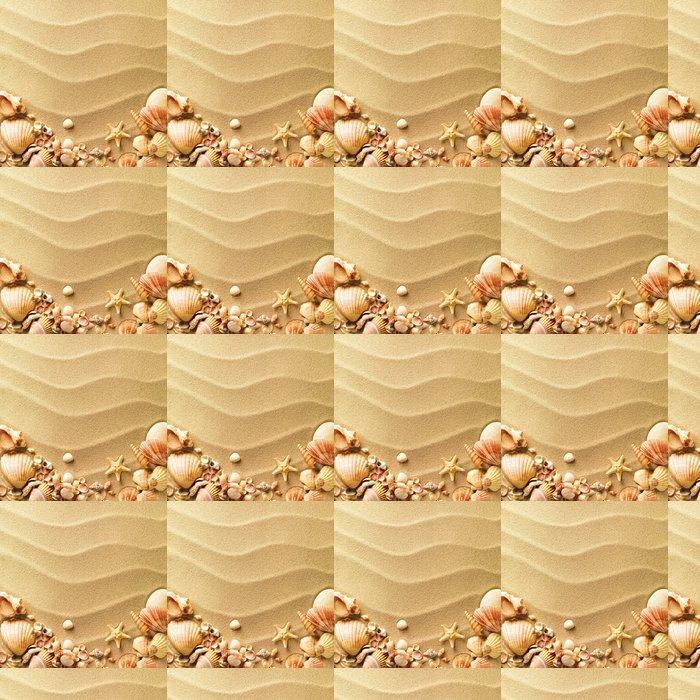 Vinylová Tapeta Mušle s pískem jako pozadí - Osud
