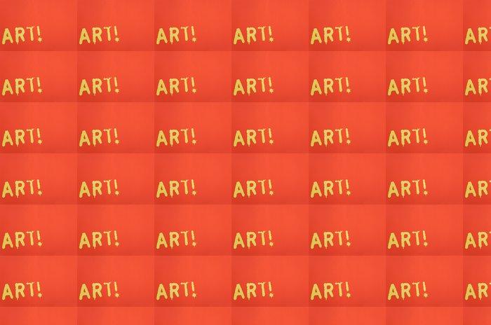 Vinylová Tapeta Panel umění - Značky a symboly
