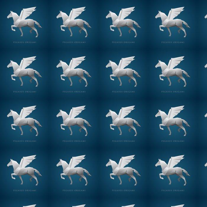 Vinylová Tapeta Pegasus Logo - Imaginární zvířata